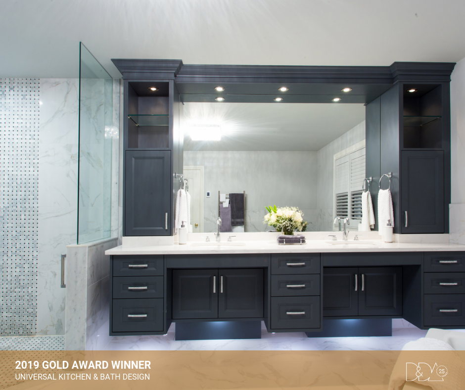 DDA Canada | 2019 Gold Award Winner – Student – Universal Kitchen & Bathroom Design