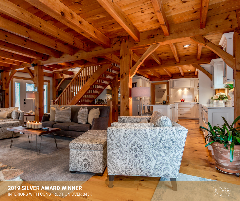 DDA Canada | 2019 Silver Award Winner – Student – Interiors with Construction Over $45K