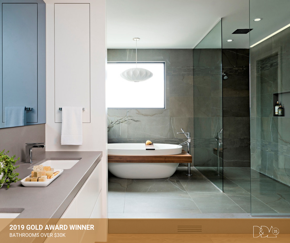 DDA Canada | 2019 Gold Award Winner – Student – Bathrooms Over $30K