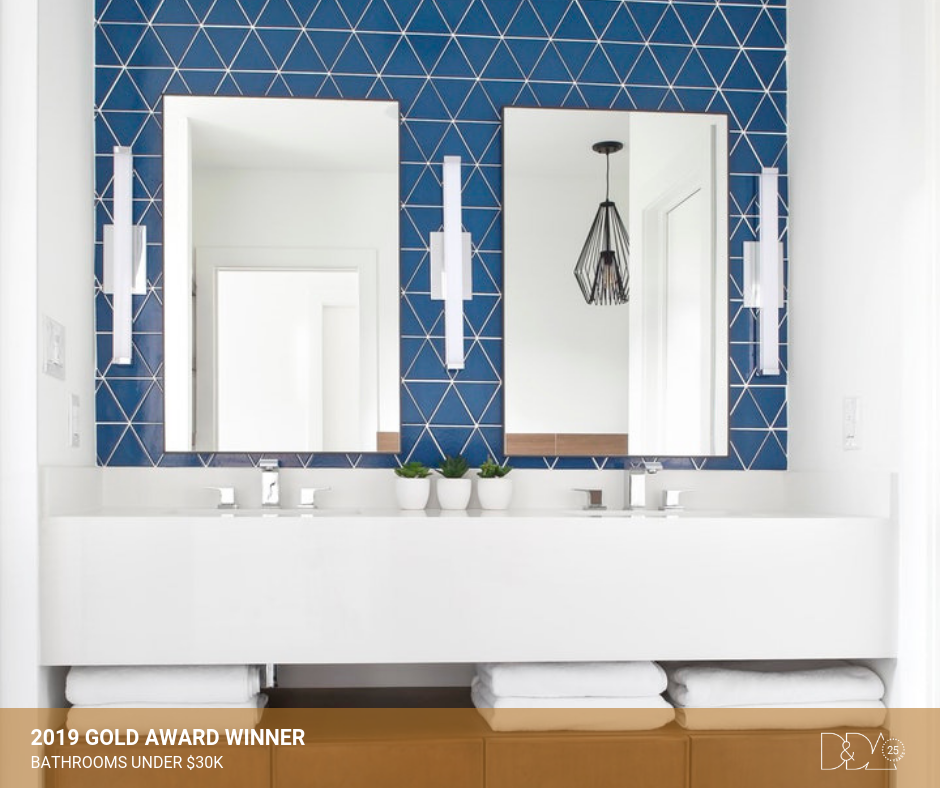 DDA Canada | 2019 Gold Award Winner – Student – Bathrooms Under $30K