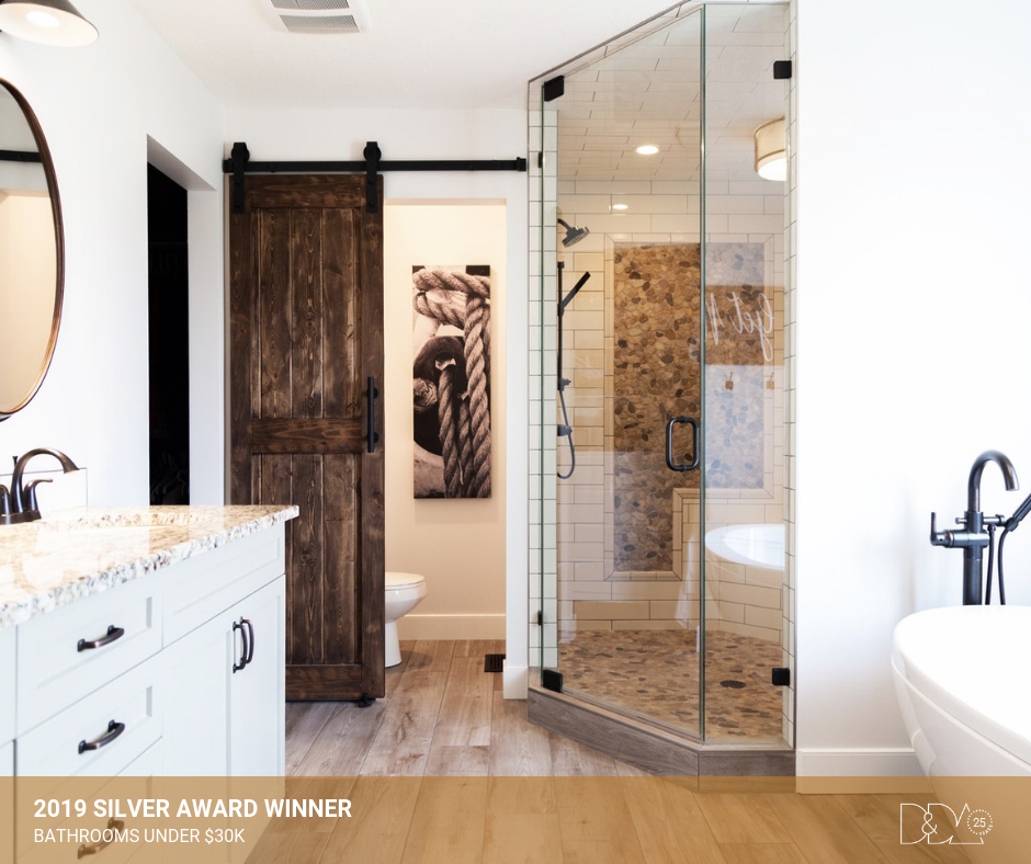 DDA Canada | 2019 Silver Award Winner – Student – Bathrooms Under $30K