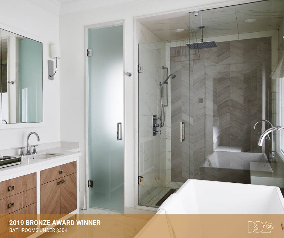 DDA Canada | 2019 Bronze Award Winner – Student – Bathrooms Under $30K