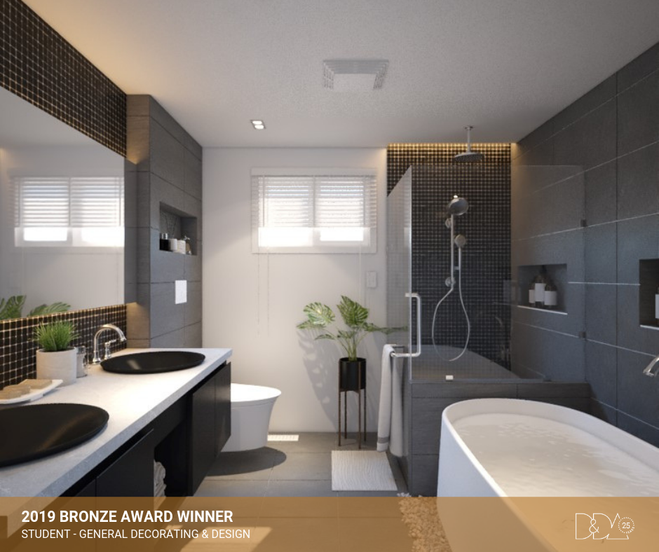 DDA Canada | 2019 Bronze Award Winner – Student – General Decorating and Design