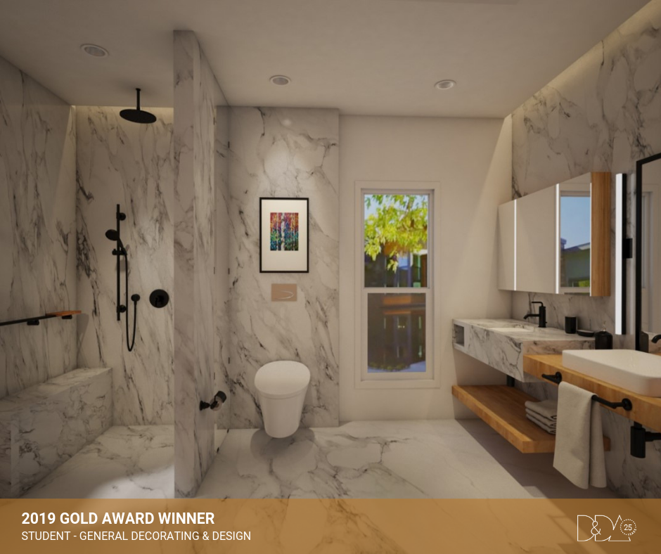 DDA Canada | 2019 Gold Award Winner – Student – General Decorating and Design