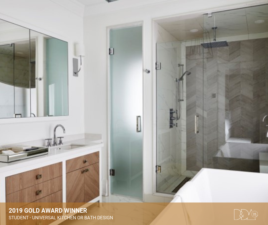 DDA Canada | 2019 Gold Award Winner – Student – Universal Kitchen and Bathroom Design