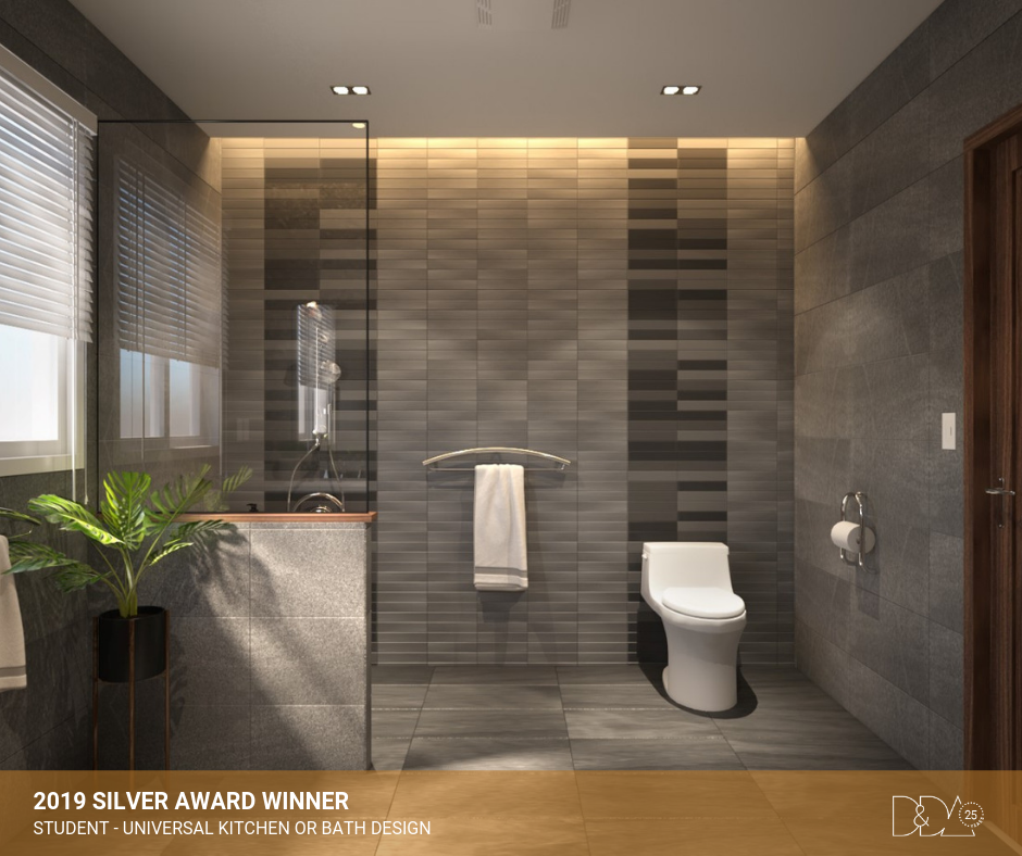 DDA Canada | 2019 Silver Award Winner – Student – Universal Kitchen and Bathroom Design