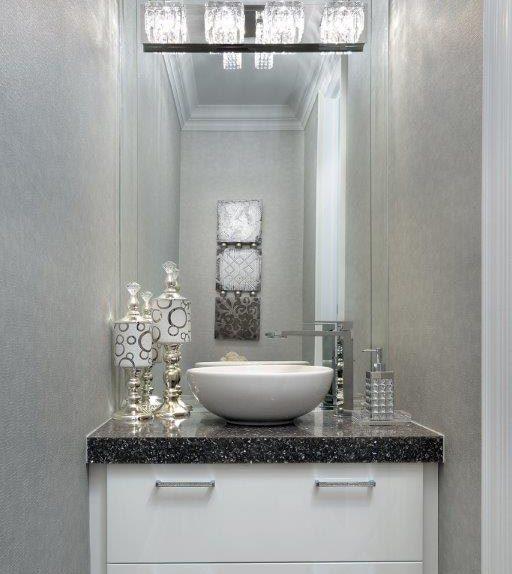Bronze - Powder Room, Anastasia Rentzos